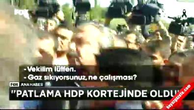 HDP'li Sırrı Süreyya polisi tartakladı