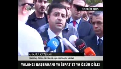 Demirtaş'tan istifa sözü