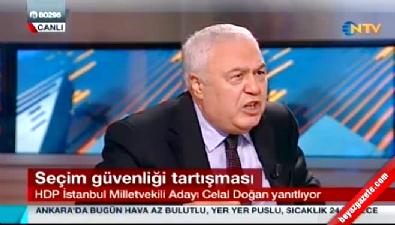 NTV'ye konuk olan HDP'li Doğan: Ana akım medya bizi çıkarmıyor