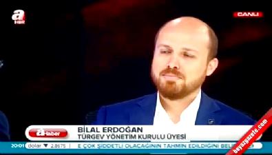Bilal Erdoğan 'kaçtı' iftiralarına canlı yayında cevap verdi