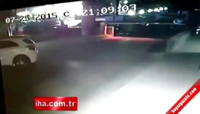 AK Parti binasına bomba yerleştiren terörist kamerada