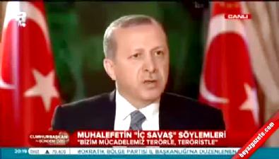 Erdoğan: Suriye'ye kaçarken yakalanan canlı bombalar var