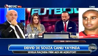 Deivid De Souza: Sevilla maçı primimiz ödendi