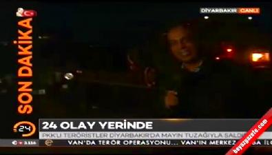 Diyarbakır'da mayınlı saldırı