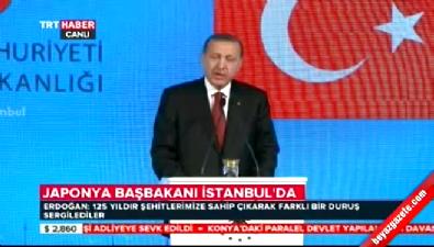 Cumhurbaşkanı Erdoğan ile Japonya Başbakanı Abe'den ortak açıklama