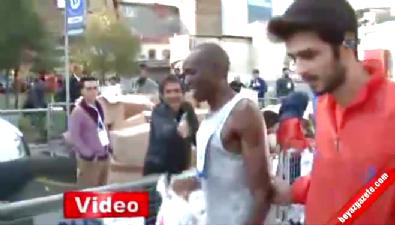 15 kilometre yarışında zafer Kenyalı Cheruiyot'un !