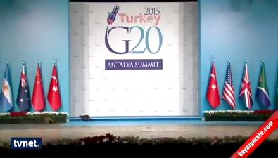 G-20'nin sürprizi !