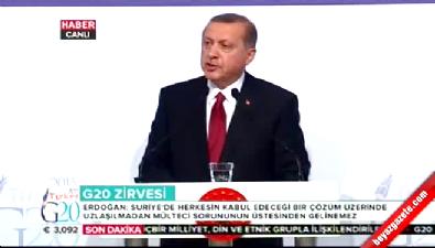 Cumhurbaşkanı Erdoğan: Esed'in Suriye'nin geleceğinde yeri yoktur