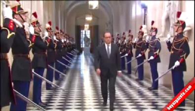 Hollande: Saldırılar Suriye'de planladı Belçika'da yönlendirildi