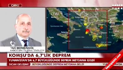 deprem - Yunanistan'da 6,7 şiddetinde deprem