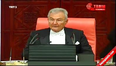Deniz Baykal Meclis Başkanlığı görevini üstlendi