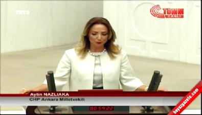 CHP milletvekili Aylin Nazlıaka yeminini etti.