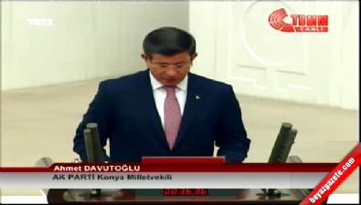 Başbakan Ahmet Davutoğlu yemin etti