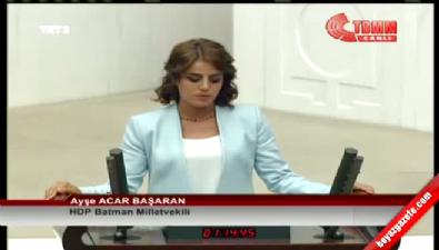 HDP Batman Milletvekili Ayşe Acar Başaran'ın yemini (7 Haziran 2015)