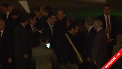 Yunanistan Başbakanı Çipras, İstanbul'a Geldi