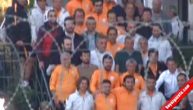 Hamza Hamzaoğlu'na alkışlarla veda