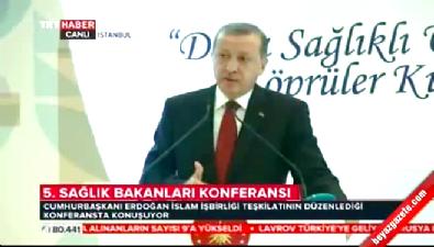 Cumhurbaşkanı Erdoğan İslam İşbirliği Teşkilatı toplantısında konuştu