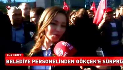 AK Parti'nin 1 Kasım zaferi sonrası Melih Gökçek'e coşkulu karşılama