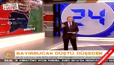 Ünlü spiker Türkmen Dağı katliamına sessiz kalmadı