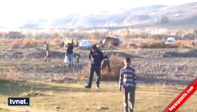 Suriyeli sığınmacılar da gök taşı arıyor
