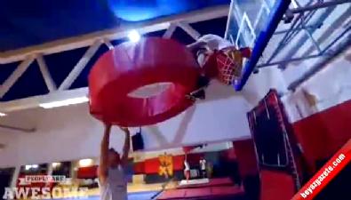 Basketbol cambazları iş başında!