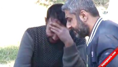 Arkadaşının cesedini teşhis edince gözyaşlarına boğuldu
