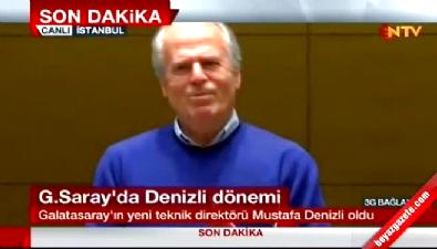 Mustafa Denizli: Galatasaraylılar nasıl bir hava bekliyorsa o havayı yakalayacağız