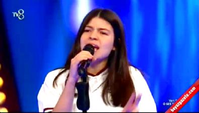 gokhan ozoguz - Berra Atahan 16 Yaşında O Ses Türkiye Jurisini Büyüledi