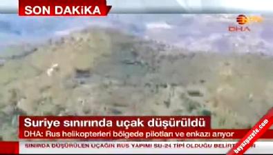 Rus helikopterleri düşürülen Rus uçağını arıyor