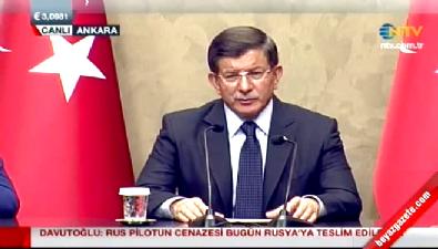 Başbakan Davutoğlu: Tahir Elçi'nin yanında bulunan silahla bir polisimiz şehit oldu