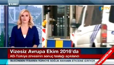 AB-Türkiye zirvesi sonuç taslağı açıklandı