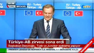 Türkiye - AB zirvesi ardından ilk açıklama