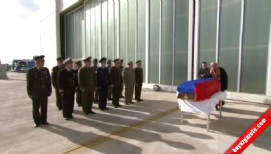 Rus Savaş Pilotunun Cenazesi Rusya'ya Gönderildi
