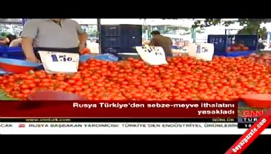 Rusya, Türkiye'den sebze ve meyve ithalatını yasakladı