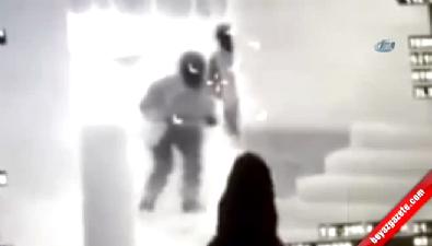 PKK'lı teröristlerin vurulma anı saniye saniye kamerada
