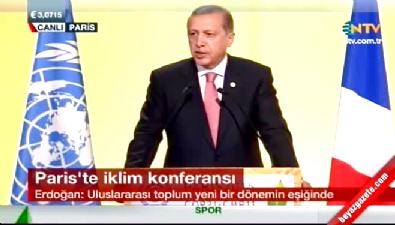Erdoğan BM İklim Değişikliği Zirvesi'nde konuştu