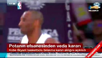 Kobe Bryant basketbolu bırakacağını açıkladı