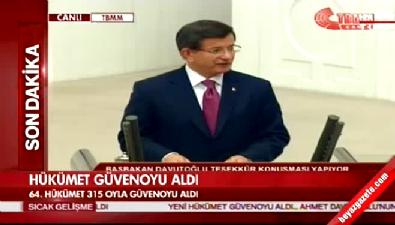 Davutoğlu: Herkesin hükümetiyiz.