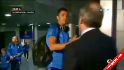 Başkan Ronaldo'ya tokadı bastı !
