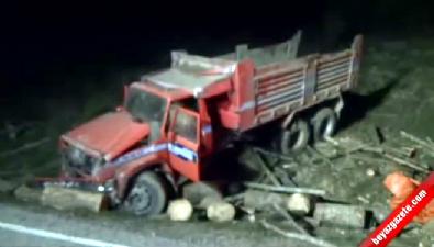 Bartın'da kamyon kasasında korkunç ölüm