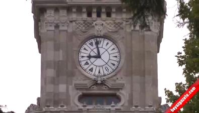 Saatini geriye almayı unutan vatandaşlar işe erken gitti