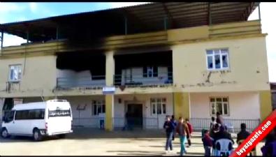 Kuran kursunda yangın 6 çocuk öldü