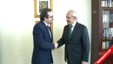 ABD'nin Ankara Büyükelçisi Bass'dan Kılıçdaroğlu'na ziyaret