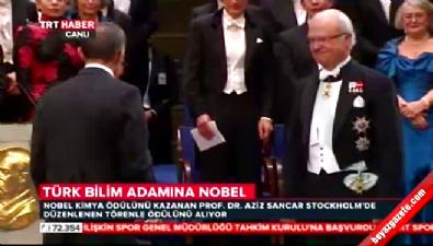 Aziz Sancar Nobel Kimya Ödlü'nü aldı