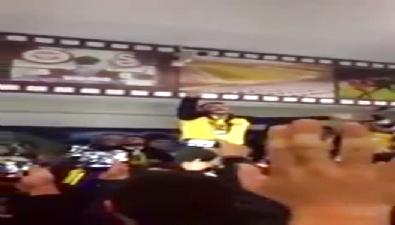 Ahmet Parlak Fenerbahçe taraftarını coşturdu