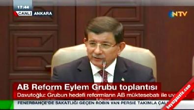 Başbakan Davutoğlu: Önümüzde çok net bir takvim var