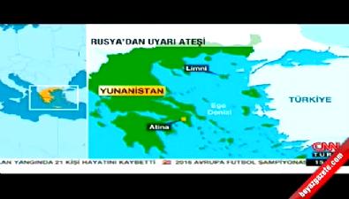 Rus gemisinden Türk teknesine uyarı ateşi
