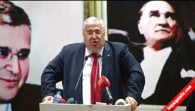 DSP Genel Başkanı Türker Genel Başkanlığa veda etti