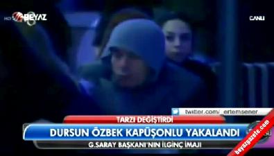 Dursun Özbek'in şaşırtan hali