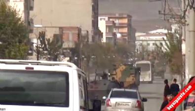 Şırnak'ta Sokağa Çıkma Yasağı Öncesi Askeri Hareketlilik